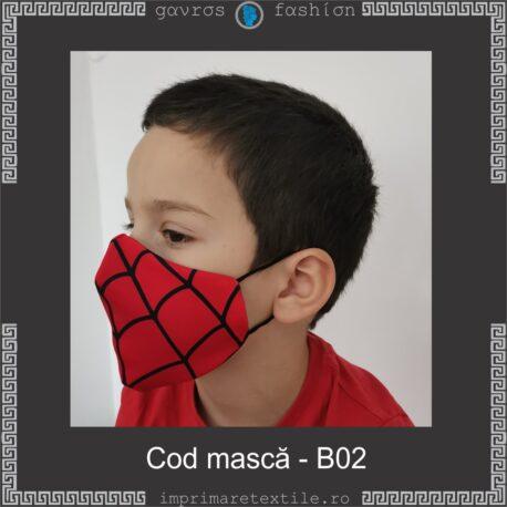 Mască personalizată copii cod B02