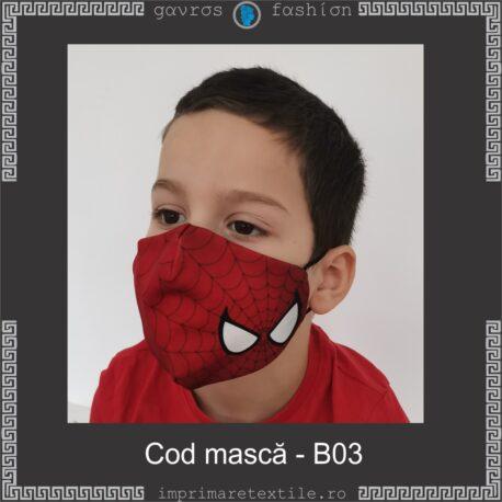 Mască personalizată copii cod B03
