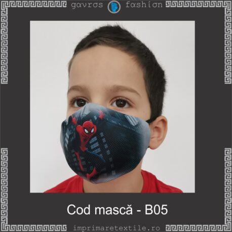 Mască personalizată copii cod B05