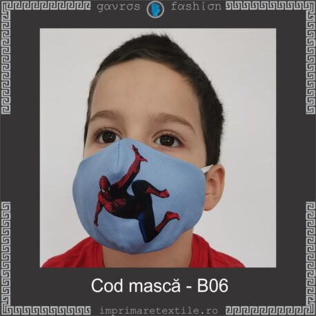 Mască personalizată copii cod B06