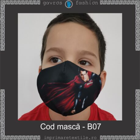 Mască personalizată copii cod B07