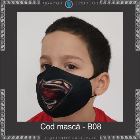 Mască personalizată copii cod B08