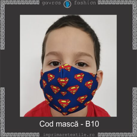 Mască personalizată copii cod B10