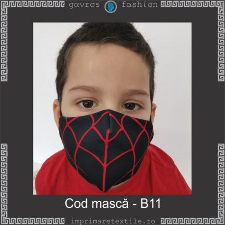 Mască personalizată copii cod B11