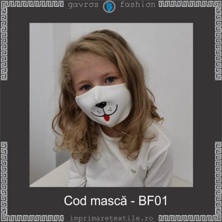 Mască personalizată copii cod BF01