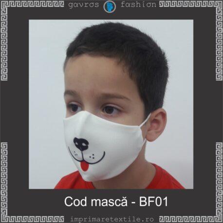 Mască personalizată copii cod BF01 (2)