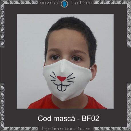 Mască personalizată copii cod BF02