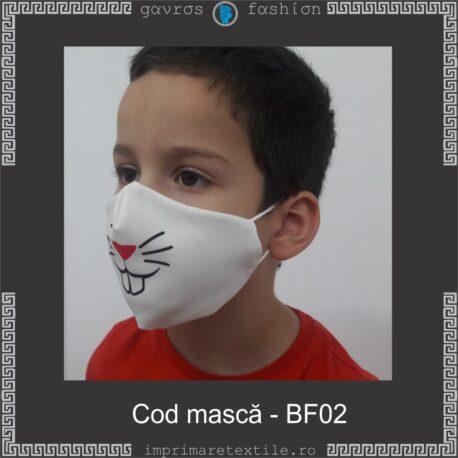 Mască personalizată copii cod BF02 (3)
