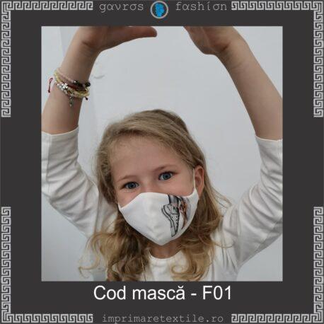 Mască personalizată copii cod F01