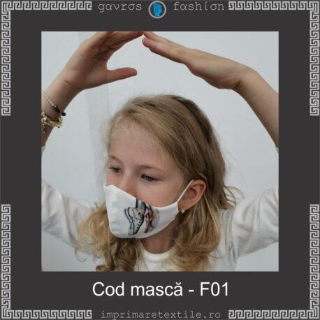 Mască personalizată copii cod F01 (2)