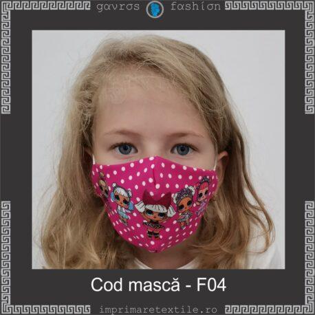Mască personalizată copii cod F04 (3)
