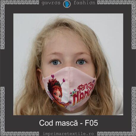 Mască personalizată copii cod F05