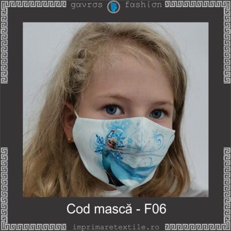 Mască personalizată copii cod F06