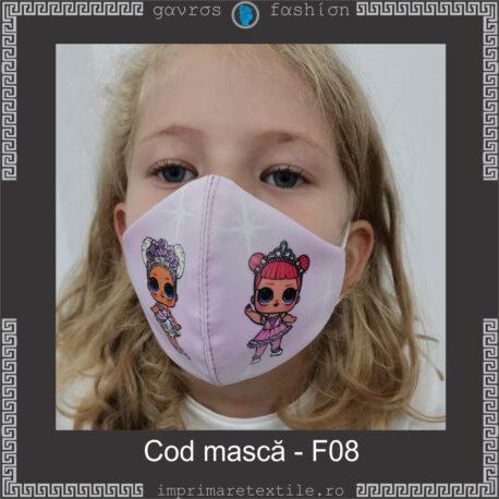 Mască personalizată copii cod F08 (2)