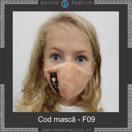 Mască personalizată copii cod F09 (2)