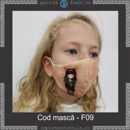 Mască personalizată copii cod F09