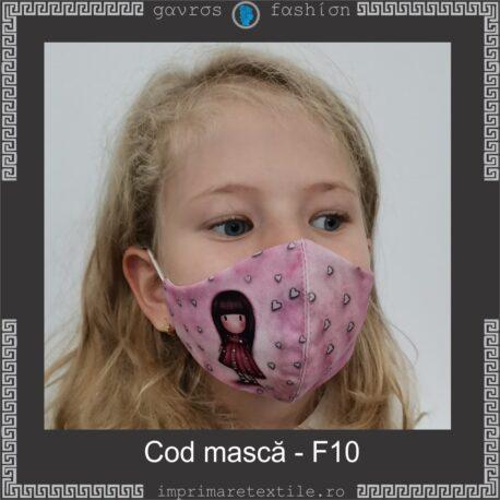Mască personalizată copii cod F10 (2)