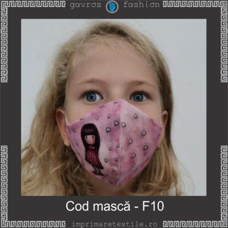 Mască personalizată copii cod F10