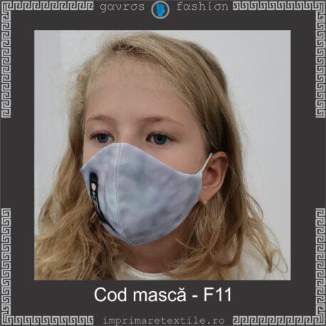 Mască personalizată copii cod F11 (2)