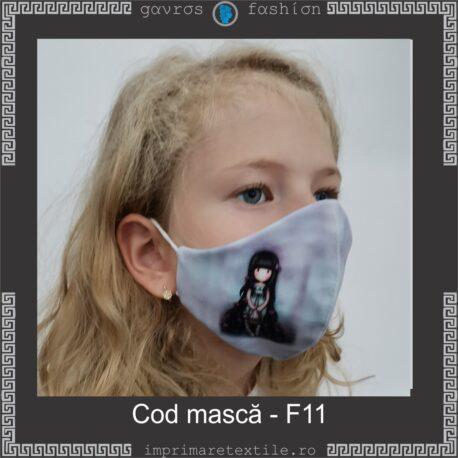 Mască personalizată copii cod F11